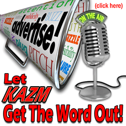 Advertising on 780 KAZM