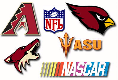Arizona Diamondbacks Arizona Cardinals Phoenix Coyotes NFL ASU Sun Devils NASCAR on 780 KAZM
