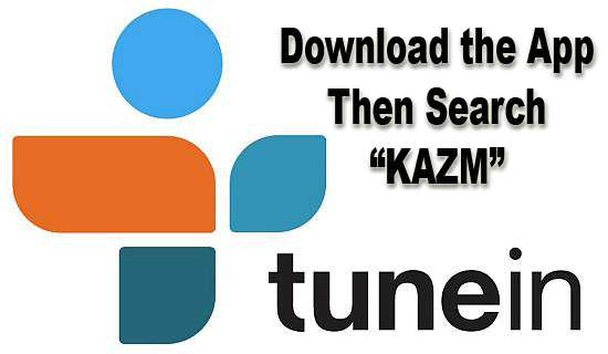 Tune in Radio app for listening to KAZM Radio 780 stream